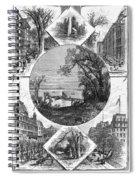 New York Saratoga, 1874 Spiral Notebook