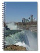 New York Side Of Niagara Falls Spiral Notebook