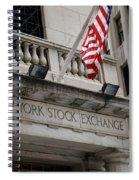 New York Stock Exchange Building Spiral Notebook