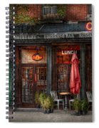 New York - Store - Greenwich Village - Sweet Life Cafe Spiral Notebook