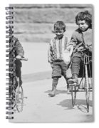 New York Street Kids - 1909 Spiral Notebook