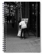 New York Street Photography 26 Spiral Notebook