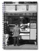 New York Street Photography 4 Spiral Notebook
