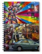 New York Street Scene Spiral Notebook