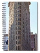 New York - The Flat Iron Building Spiral Notebook