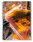 New York Traffic Spiral Notebook