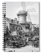 New York Windmill, C1905 Spiral Notebook