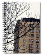 New York Winter Day Spiral Notebook