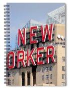 New Yorker Spiral Notebook