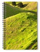 New Zealand Farmland Spiral Notebook