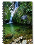New Zealand Mountain Pure Spiral Notebook