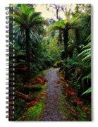 New Zealand Rainforest Spiral Notebook