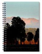New Zealand Silhouette Spiral Notebook