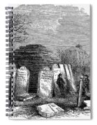 Newark Cemetery, 1876 Spiral Notebook