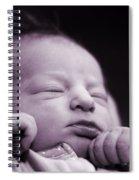 Newborn Baby Spiral Notebook
