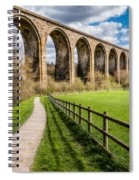 Newbridge Rail Viaduct Spiral Notebook