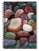 Newfoundland Beach Rocks 2  Spiral Notebook