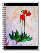 Newfoundland Pitcher Plant Spiral Notebook