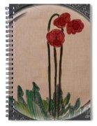 Newfoundland Pitcher Plant - Porthole Vignette Spiral Notebook
