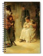 Newgate Committed For Trial, 1878 Spiral Notebook