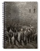 Newgate Prison Exercise Yard Spiral Notebook