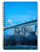 Newport Bridge Spiral Notebook