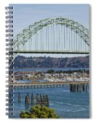 Newport Bridge Spiral Notebook