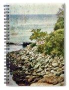 Newport Cliff Walk Spiral Notebook