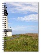 Newport Oregon Yaquina Lighthouse Spiral Notebook