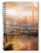 Newport Rhode Island Harbor I Spiral Notebook