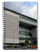 Newseum In Washington Dc Spiral Notebook