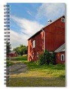 Newtown Barn Spiral Notebook