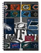 Nfl Teams Spiral Notebook