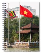 Ngoc Son Temple  01 Spiral Notebook