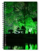 Ngoc Son Temple 02 Spiral Notebook