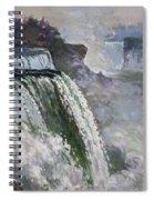 Niagara American Falls 2 Spiral Notebook