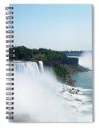 Niagara Falls 4 Spiral Notebook