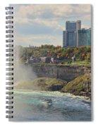 Niagara Falls 4039 Spiral Notebook