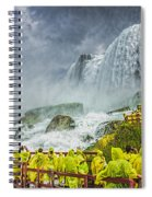 American Falls Niagara Cave Of The Winds Spiral Notebook