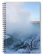 Niagara Falls -  Minus 20 C Spiral Notebook