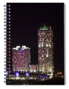 Niagara Falls Ontario Skyline Spiral Notebook