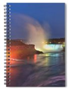 Niagara Falls Ultra Wide Panorama Spiral Notebook