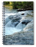 Niagara River Rapids Above Niagara Falls 2 Spiral Notebook