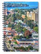 Niagara Street Autumn 2013 Spiral Notebook