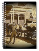 Niagra Carting Wagon Extras The Great White Hope Set Globe Arizona 1969-2014 Spiral Notebook