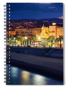 Nice By Night Spiral Notebook