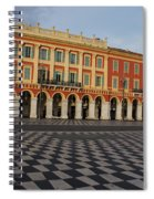 Nice France - The Cheerful Colors Of Place Massena Spiral Notebook