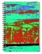 Nice Rust Spiral Notebook
