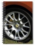 Nice Wheel Spiral Notebook