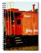 Nickel Plate Spiral Notebook